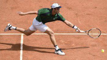 Dos alegrías argentinas en la primera jornada de Roland Garros