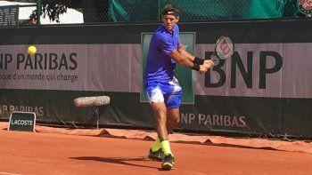 Del Potro vence a Pella en la primera ronda de Roland Garros