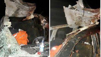 Tres heridos luego de chocar contra un caballo suelto en la Ruta 17