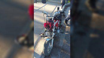 Centenario: la atropellaron y la dejaron tirada en la calle