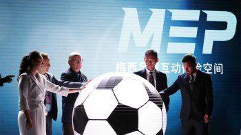 Messi tendrá su propio parque temático en China