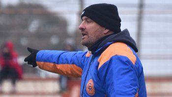 Mauro Laspada. Entrenador de Deportivo Roca y ex defensor de Olimpo