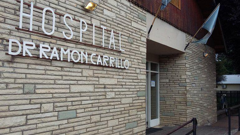 El hospital Ramón Carillo de San Martín de los Andes.