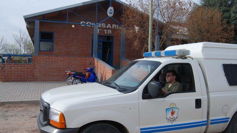 El ladrón atrapado fue trasladado a la Comisaría 18.