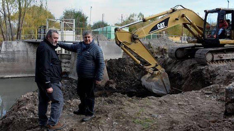 Confirman el avance de las obras en el Arroyo Durán