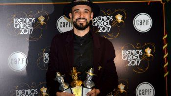 Abel Pintos ganó el tercer Gardel de Oro de su carrera