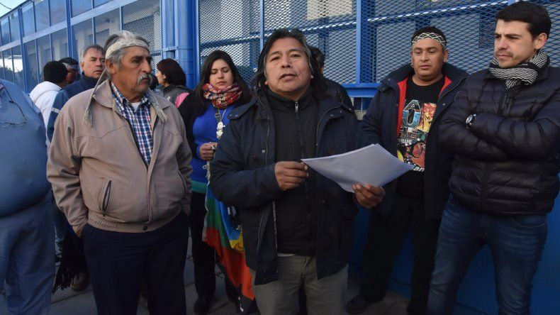 El werkén de la zonal mapuche, Jorge Nahuel, salió al cruce de Díaz.