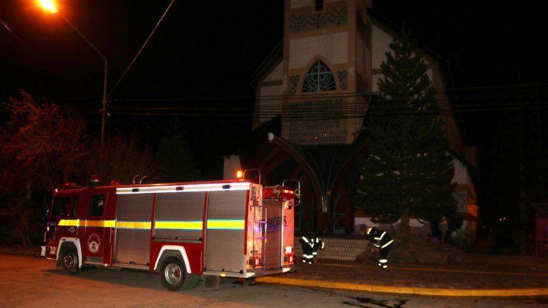 Susto en Junín: explotó una caldera en una parroquia