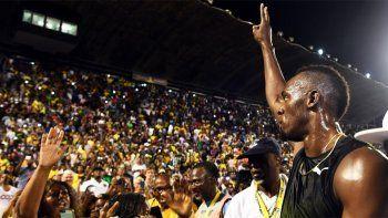 Usain Bolt se despidió de su público con otro triunfo