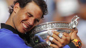 Impresionante: Nadal ganó su décimo título en Roland Garros