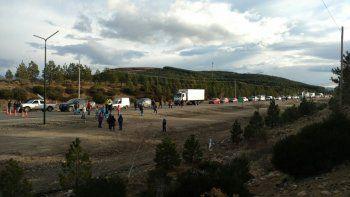 Desocupados levantaron el corte en Ruta 40 en Junín de los Andes