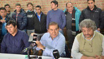 Pereyra dijo que el acuerdo paritario fue bueno por la cláusula gatillo.