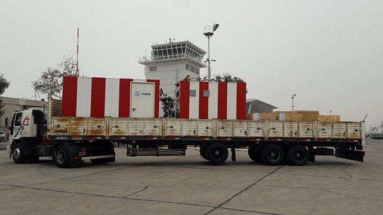 Llegó el instrumental que permitirá al aeropuerto operar con niebla
