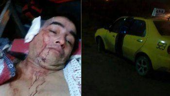 Un taxista se tiró del auto para evitar que un ladrón lo apuñale