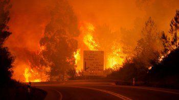 Al menos 62 muertos en un incendio forestal en el centro de Portugal