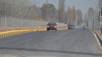 La prolongación de la calle Lanín hacia Valentina fue habilitada el lunes pasado y ya mejora la vida de los vecinos.