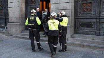 Evacuaron el Senado por una falsa amenaza de bomba