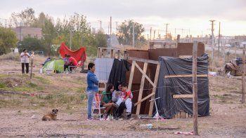 parque industrial: llega ayuda oficial para desalojados