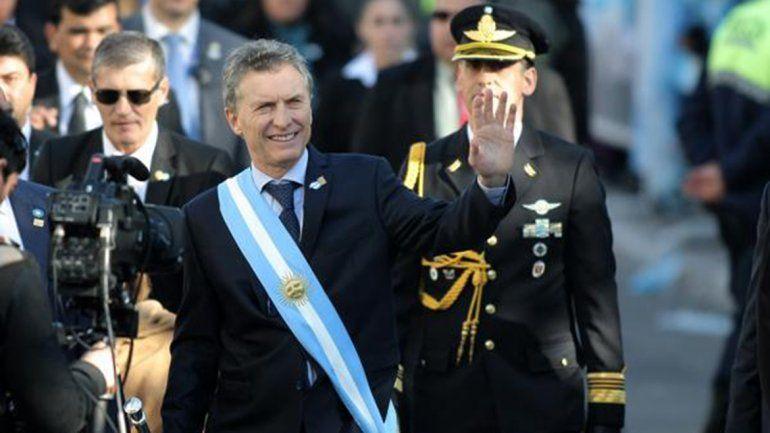 Macri no estará en el acto a la Bandera para evitar disturbios