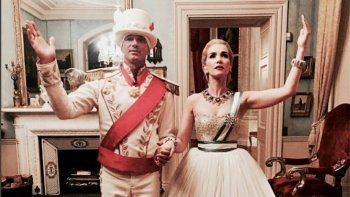 Oreiro le dio el gusto a un magnate ruso y fue Evita