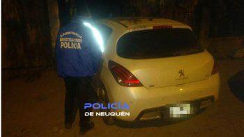 Recuperaron un auto que había sido robado en Cipolletti