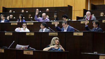 Los 21 diputados del oficialismo fueron denunciados penalmente.