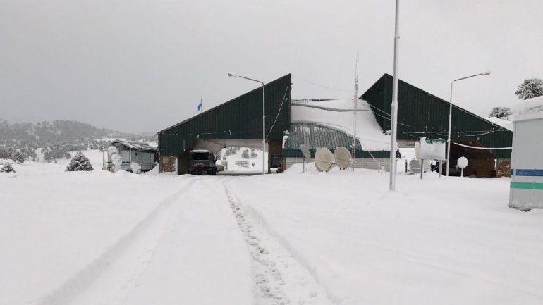 Reabrieron Pino Hachado tras otro temporal de nieve