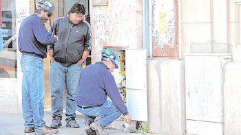 La abuelita fue abordada por el ladrón en Sargento Cabral y Martínez.