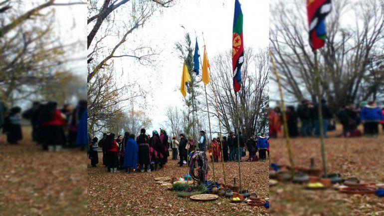 A orillas del río, así comenzó el Año Nuevo mapuche