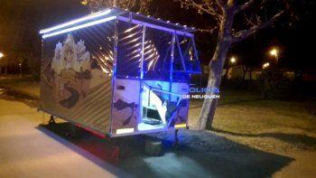 plottier: ni los carritos de comida se salvan de los robos