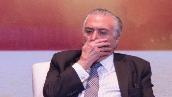 La valoración del presidente de Brasil está por el piso.