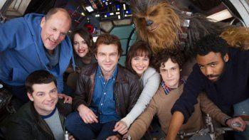 Parte del elenco del film de uno de los personajes históricos de Star Wars.