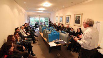 En la Junta de Gobierno del MPN, ayer a la mañana, se dio la última charla explicativa a los veedores de los comicios.
