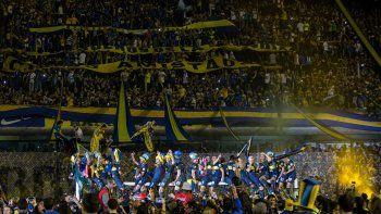La fiesta del campeón: así festejó Boca el título en la Bombonera