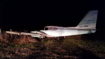 buscan intensamente al piloto de una avioneta narco