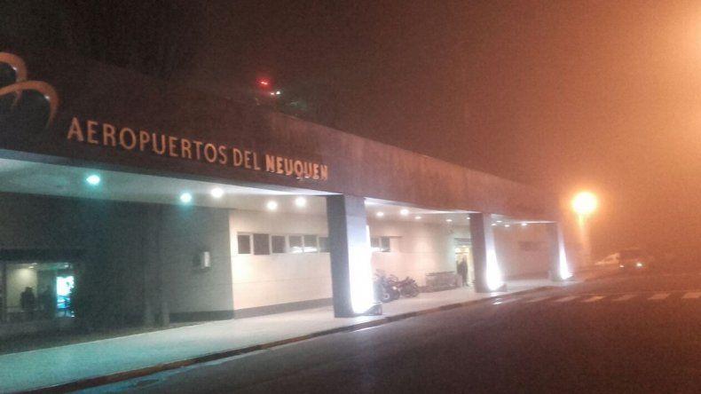 Tras las demoras matinales, el aeropuerto volvió a operar