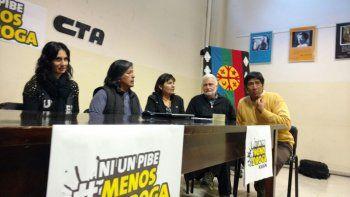 Lanzan el movimiento Ni Un Pibe Menos por la Droga en la provincia