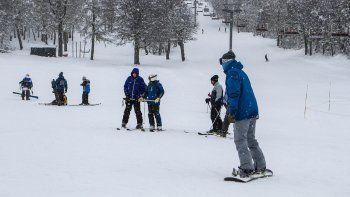 Chapelco abrió la temporada para esquiadores el fin de semana.