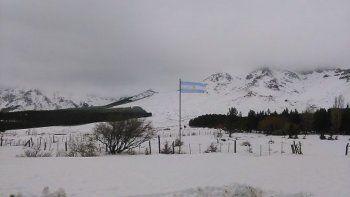 Hay localidades del Norte aisladas por las nevadas