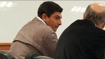 Gonzalo Alarcón Medina durante el juicio que enfrenta por el femicidio.