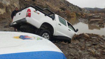 Encontraron ropa del hombre desaparecido en el río Curi Leuvú