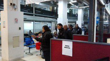 Veteranos de Malvinas realizan una toma pacífica del PAMI
