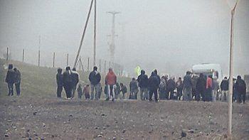 Uocra: desocupados levantaron los cortes de ruta en Añelo