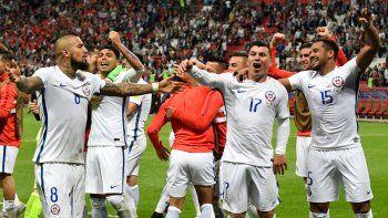 Chile venció a Portugal por penales y pasó a la final de la Copa