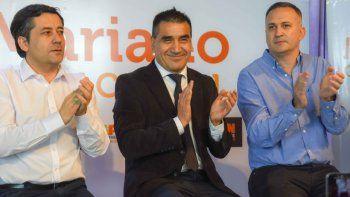 Mariano Mansilla, Ramón Rioseco y Fernando Schpoliansky, en campaña.