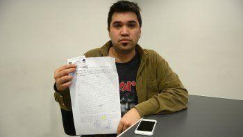 Tomás Muñoz contó la pesadilla que vive con las empresas de celulares.