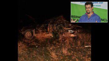 Ruta 23: murió en un choque el intendente de Maquinchao