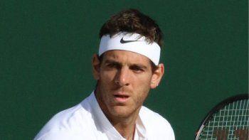 Del Potro debuta con el australiano Kokkinakis en Wimbledon.