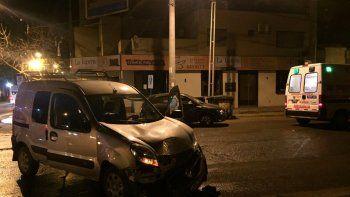 Una mujer resultó herida en un accidente en el centro