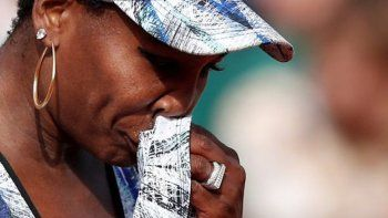 Venus Williams se quebró al hablar del choque fatal